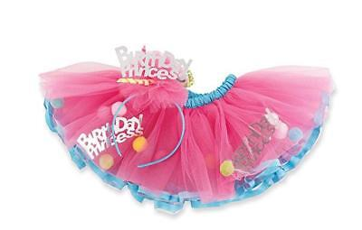 """Mud Pie Birthday Princess Pink /& Gold /""""One/"""" High Chair Banner DISCONTINUED"""