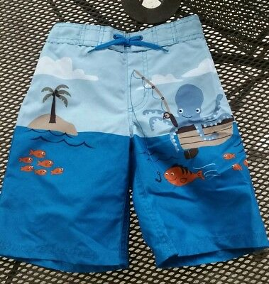 Gymboree Octopus Swim Shorts Trunks NWT 5T