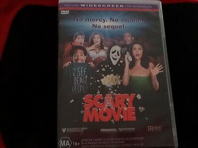 Scary movie deluxe widescreen DVD