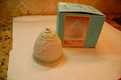 Lladro Holiday Christmas Bell Collector Ornament 1988 With Box No. 5525