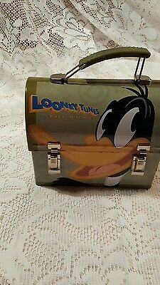 Looney Tunes Back in Action Daffy Duck metal lunch box