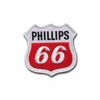 Phillips 66 Embroidered Patch - Muscle Cars - Chevy - Hemi - Dodge - Cuda - NHRA