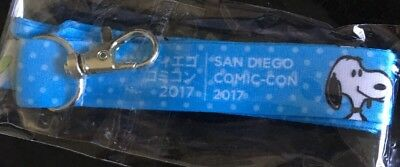 New SDCC 2017 Peanuts Snoopy Limited Edition Lanyard