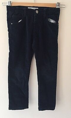 Zara Baby boy Girls Collection Size 2/3 Years Colour Blue Jeans / Cord Pants