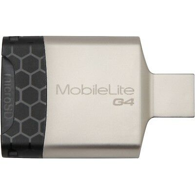 Kingston MLG4 MobileLite G4 microSD SDHC Multi Dual USB 3.0 Memory Card Reader