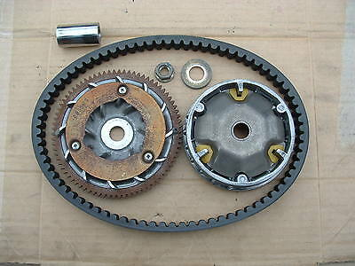 Piaggio Fly 125 09 Mod Belt Drive + Belt Good Cond