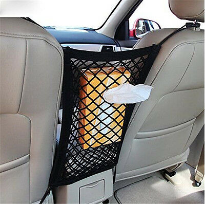 Car Mesh Cargo Net Storage Seat Gap Bag Truck Holder Hanging Organizer Hooks