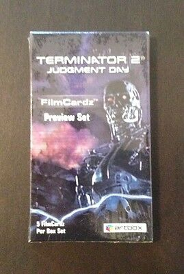 "2003 Artbox ""Terminator 2 Filmcardz - Preview Set"" - Limited Edition (0662/1008)"