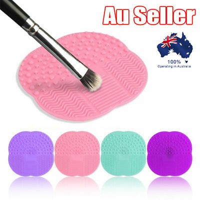 Cleaning Mat Pad RYO Silicone Makeup Brush Cleaner Washing Scrubber Board