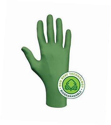 Enviromentally Friendly 4 Mill Nitrile Glove, 100% Biodegradable, Powder Free