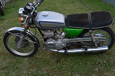 1974 Suzuki GT125 - Restoration Project or Cool Cafe Racer Candidate
