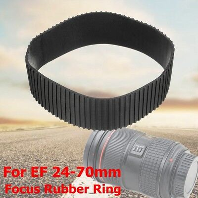 Lens Zoom Rubber Grip Ring Replacement Part For Canon EF 24-70mm f/2.8L II USM