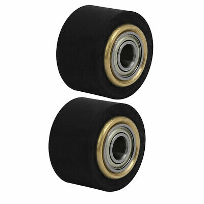 4mmx11mmx16mm Silicone Pinch Roller Rolling Wheel for Engraving Machine 2Pcs