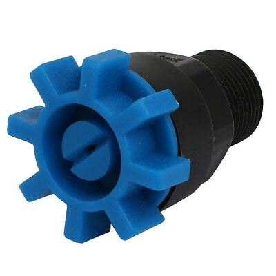 3/8BSP Male Thread Garden Plastic Spray Sprayer Flat Jet Nozzle Black Blue