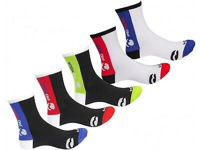 Piu Miglia Strada (5 Pack) Mens Womens Cycling Bike Socks