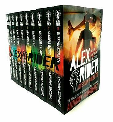Alex Rider: The 10-Book Collection by Anthony Horowitz Book The Cheap Fast Free