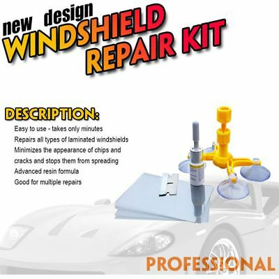 Instrument Glass Recovery Auto Windows Tool Car Windscreen Repair Kit