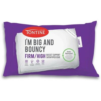 Tontine I'm BIG AND BOUNCY 2-Pack High Profile & Firm Feel Pillow Date Stamped