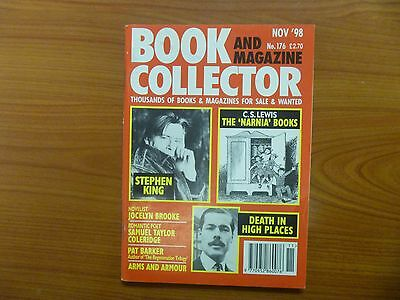 BOOK & MAGAZINE COLLECTOR No 176 - STEPHEN KING, C.S. LEWIS NARNIA BOOKS