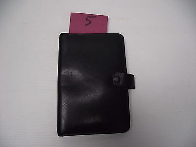 Leather Filofax Pocket Size Personal Organiser (style 5)