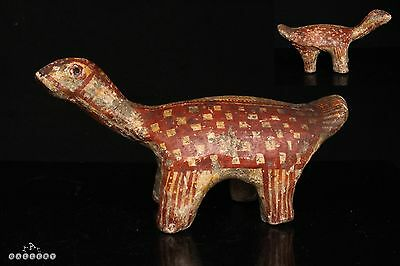 Ancient Cypriot / Greek Geometric Zoomorphic Pottery Animal Idol ca.1000 BC