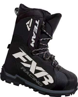 FXR Team 2016 Core Snow Boot Black 9 USA