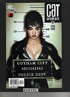 CATWOMAN #51 NM or BETTER UNREAD HUGHES LOST NUMBERS COVER DC GOTHAM CITY SIRENS