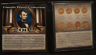2009 First Commemorative Mint Lincoln Penny Collection