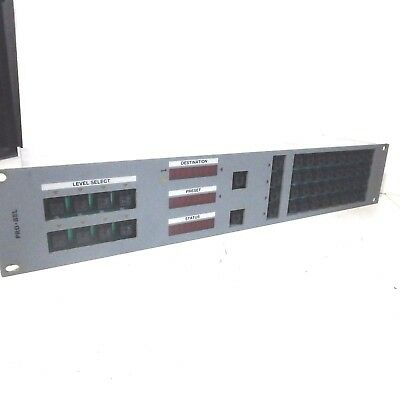 Pro-Bel Video Router Matrix Panel 6276/6277