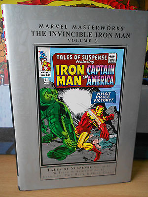 Marvel Masterworks: The Invincible Iron Man Volume 3 -  Near Mint