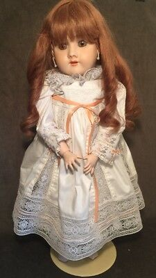 "26"" Reproduction of German Antique Bisque Simon Halbig Heinrich Handwerck  Doll"