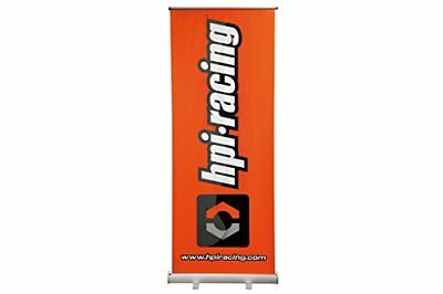 HPI Racing h107187–Roll-Up Banner con aluminio staender, 80x 207cm