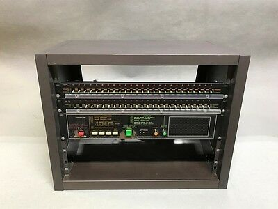 Bogen MCP 35-A Intercom System w/ 2* SBA-225 Modules 50-Channel Untested AS-IS