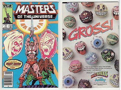 1986 Star Comics (Marvel) Masters Of The Universe #1: Nm Condition