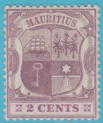 Mauritius 129  Mint  Hinged  Og  *  No Faults Extra Fine !