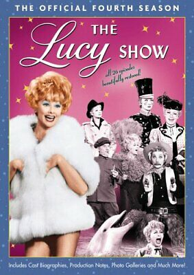 THE LUCY SHOW SEASON 4 New Sealed 4 DVD Set