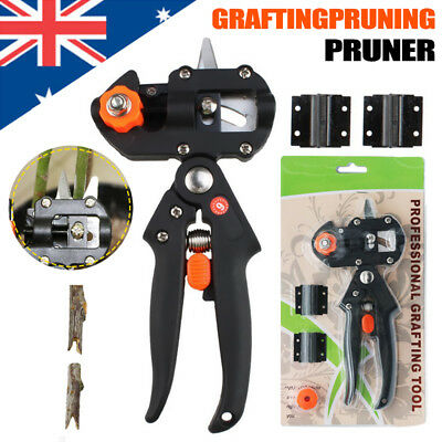 Garden Grafting Pruning Pruner Cutting Tools Kit for Plant Branch Twig Scissors