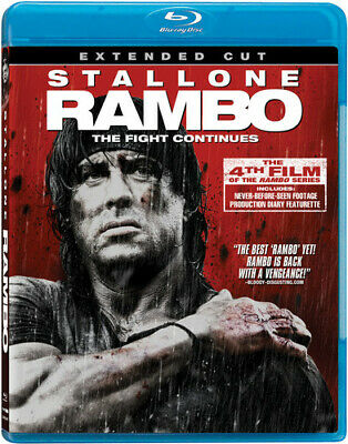 Rambo [New Blu-ray] Extended Edition, Subtitled, Widescreen, Ac-3/Dolby Digita