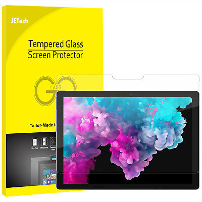 JETech Screen Protector for Microsoft Surface Pro 2017/Pro 4 Tempered Glass Film