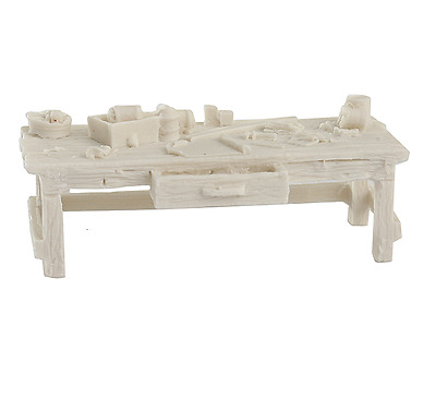 Bar Mills O Scale Workbench Unpainted Resin Casting | Bn | 4008