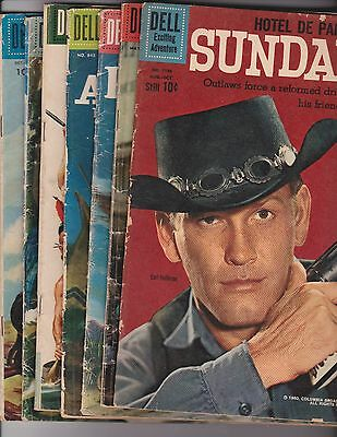 Western Comics  Lot of 7 ( 3.0 GD/VG ) 1957/1960,  DELL