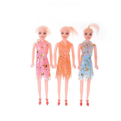 1Pc Barbie Dolls Toys Cute Dolls With Dress Kids Gift Home Decor M&C