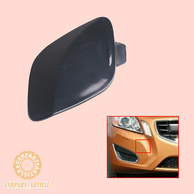 Front Primed Tow Hook Eye Cover Lid Cap For 2011-2013 Volvo S60 39802519