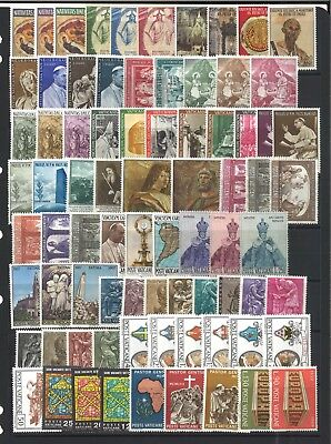 Vatican  Stamps -20 Different Complete Sets Mint Unhinged- Super Special