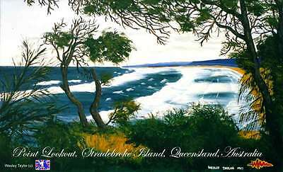 Stradbroke Island postcard 5 pack free promotion, pay $1 for postage only.