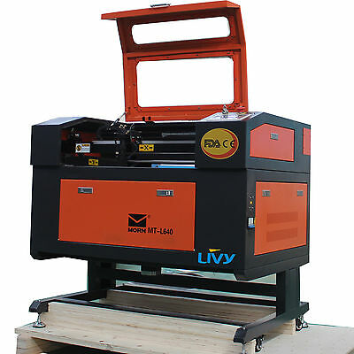 RED DOT 50 W CO2 LASER ENGRAVING MACHINE CUTTER 500X700 MM-CW3000 Chiller