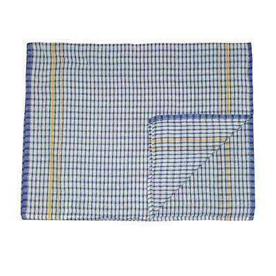 10x Teatowel, Lightweight Blue Cloth, 43x68cm Tea Towel / Cleaning Cloth