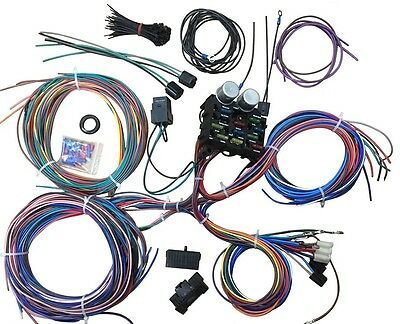 21 Circuit Universal Vehicle Wiring Harness Holden Ford Chrysler Chevrolet