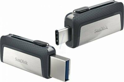 SANDISK ULTRA DUAL TYPE-C USB 150MB/sec 128GB USB FLASH DRIVE NEW A