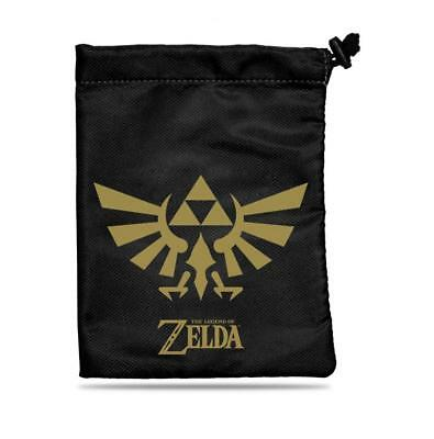 Ultra Pro - Legend of Zelda - Black and Gold Treasure Nest Dice Pouch Bag